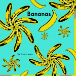 educational banana pop art